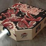 Pizza Hut cria caixa embalagem que vira projetor de cinema