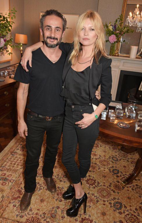 Ara e Kate Moss