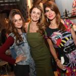 Mariana Prestes, Priscila Borgonovi e Emmanuelle Saeger