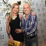 Roberta Tchirichian e Fernando Abeu