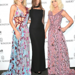 Rosie, Carine Roitfeld e Donatella Versace