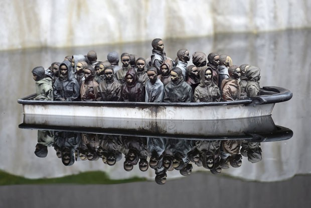 """Dismaland"" a Disney arnaquista de Banksy será inaugurada"