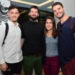 André Romitell, Bruno Baietto, Denise Rey e Guto Requena