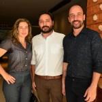 Silvia Felix, Marcelo Nassif e Alan Lima