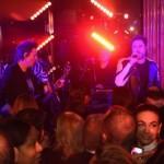 Apresentação de Simon Le Bon, da banda Duran Duran, na festa de lançamen...