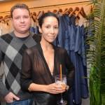 Claudio Baran e Kelly Lobos