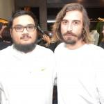 Danielo Arenas e Leandro Menezes