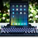 Um teclado vintage para o seu iPad