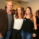 Fernando Piva, Maricy Einhorn e Claudia Einhorn