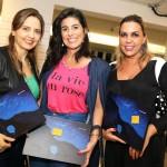 Flavia Nasser, Regina Bariani e Malu Moraes