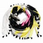 85759 Hawk Feather Shawl with Tassels