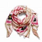 85762 Dreamweaver Shawl in Pink Ruby