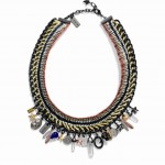 90632 Tribal Multi Charm Necklace