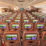 O novo Airbus A380 da Emirates