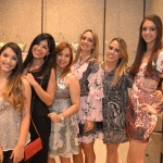 Giovana e Zilma Cribari, Tania Fontaine, Renata Braga, Rapha Torres e Fernanda Torres