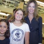 Paula Brauen e as filhas Maria do Rosário e Maria da Glória