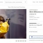 Quer conhecer Rihanna? Encontro pode custar U$S 15 mil em leilão