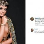 Luana Piovani critica look de Thassia Naves no Instagram