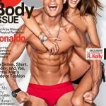 Cristiano Ronaldo e Alessandra Ambrosio sexies na GQ