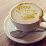 Imprima a imagem que quiser em seu café