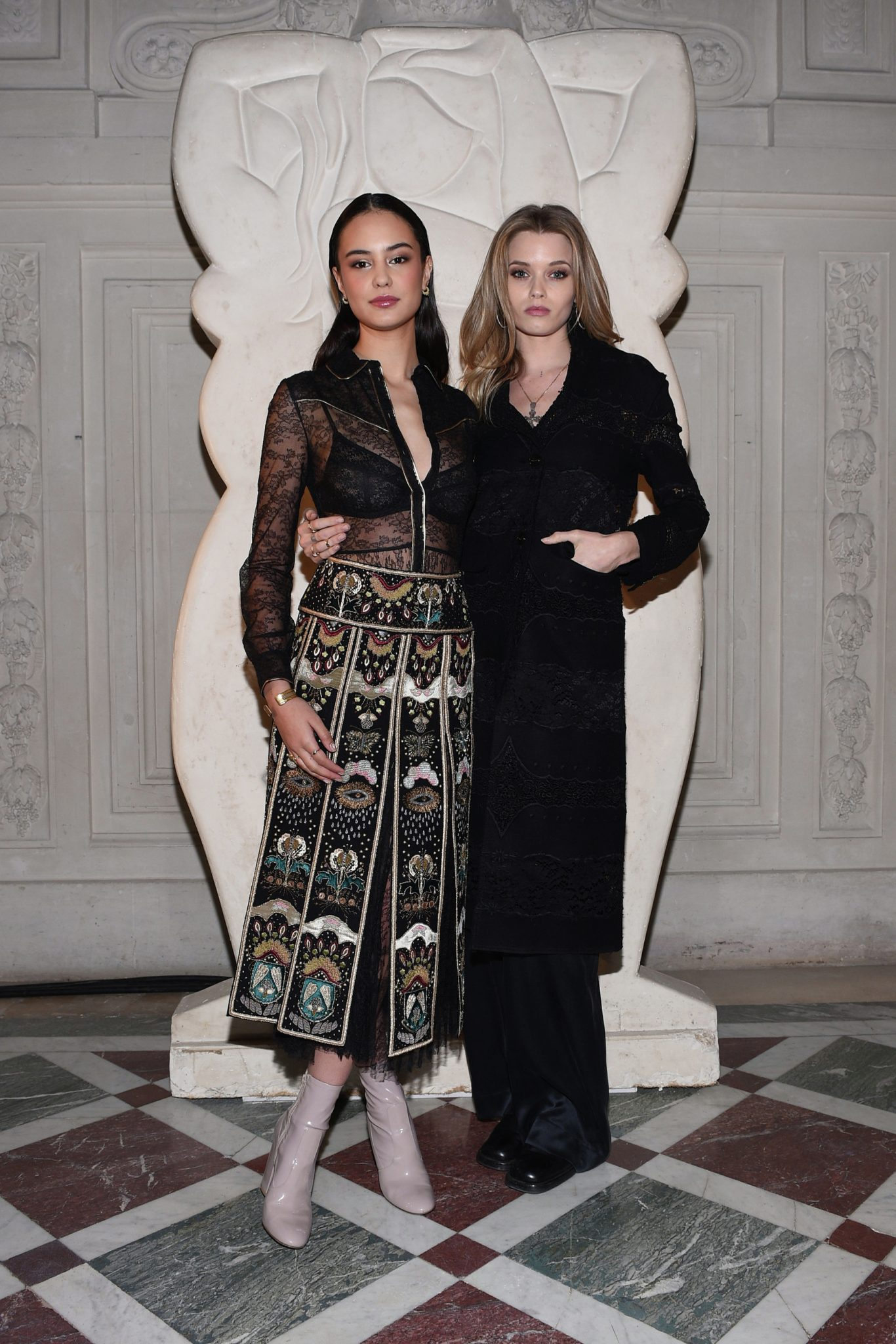 Courtney Eaton Abbey Lee Kershaw