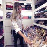 Tour pelo closet de Thassia Naves