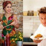 Jamie Oliver e Bela Gil farão programa juntos para o GNT