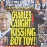 """Tablóide americano publica fotos do príncipe Charles """"beijando"""" outro homem"""