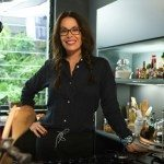 Carolina Ferraz na cozinha do Copacabana Palace