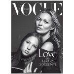 Kate Moss posa com a filha para a capa de revista italiana