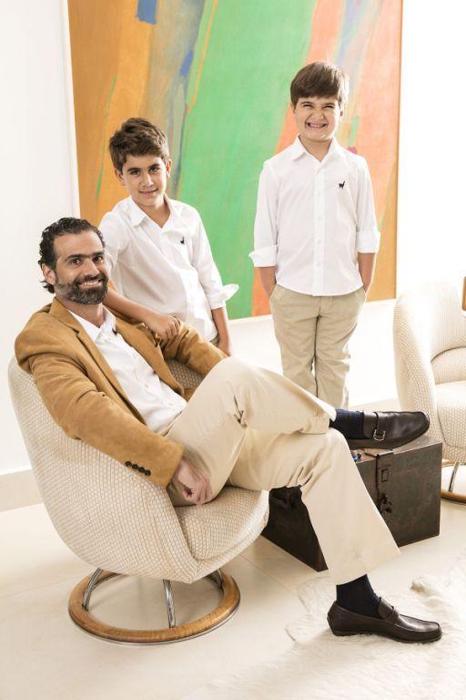 Luiz Fernando Salem, Tomás e Eduardo