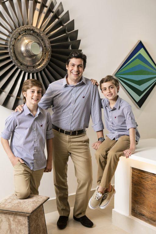 Rodrigo Natel, Guilherme e Pedro