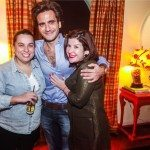 Luciana Rady, Sergio K e Juliana Ferraz