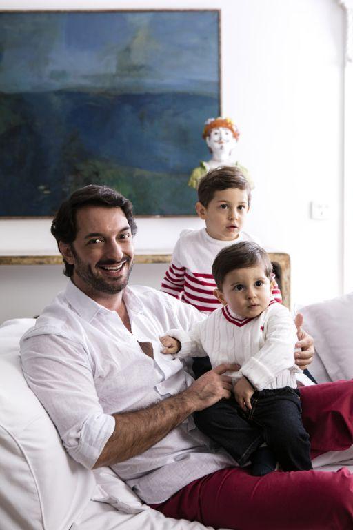 Valdemar Lerro, Antonio e Frederico