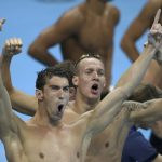 Michael Phelps chega à 23.ª medalha olímpica