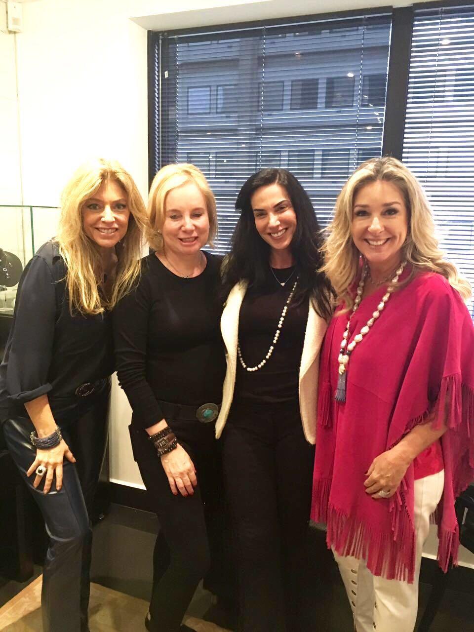 Sasha, Karina Mansour Bitar, Chris Pusset e Letícia