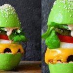 Hambúrguer de abacate?