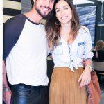 Diogo Bastos e Andrea Santarosa