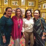 Celina Chede, Letícia, Lidi Machado e Ester Kalil