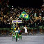 A emoção de Lea T na abertura da olimpíada