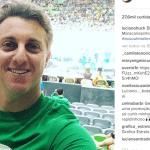 Luciano Huck é vaiado em estreia do Brasil no vôlei masculino