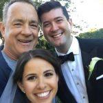 """Tom Hanks """"invade"""" ensaio fotográfico de casamento"""