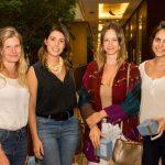 Ana Kurk, Julia Sterner, Giovana Poloto e Clarissa Rittes