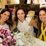 Fernanda Vita, Daniela Vilella e Elisa Barros