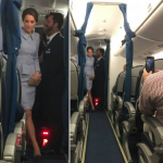 Kate Middleton surpreende passageiros ao viajar em voo comercial