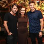 Danilo, Vera Lucia e Rodrigo Faro