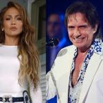 Jennifer Lopez e Roberto Carlos gravam clipe juntos