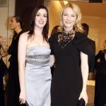 Cate Blanchett e Anne Hathaway brigam feio durante filmagem