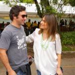 Iquinho Facchini e Rafaela Cury
