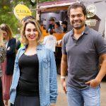 Mariana Domene e Andre Vinicius